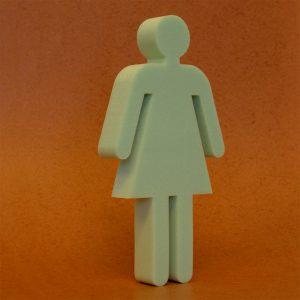 Toiletten Damen