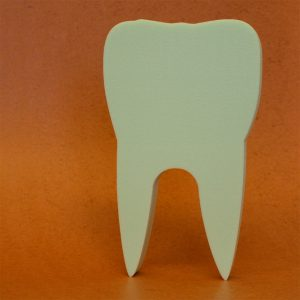 Zahn aus Styrodur